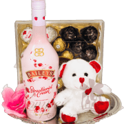 I Love You Beary Much Liqueur Gift Basket