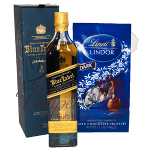 Mini Blue for You Whiskey Gift Set, 200ml engraved johnnie walker blue, johnnie walker blue gift set, mini jwb gifts, send jwb, order johnnie walker blue online