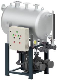 Efficiënte condensaatpomp voor stoomsysteem