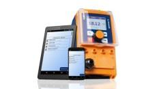 Elektromagnetische doseerpomp met bescherming tegen overbelasting
