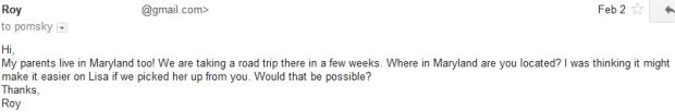 Pomsky Scam question