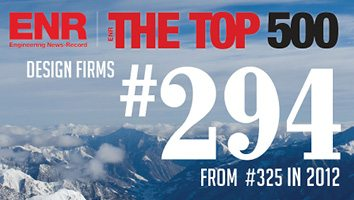 Engineering News Record's Top 500 Design Firm List