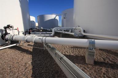 Aircraft Fuel Facility Expansion McCarran International Airport Las Vegas Nevada 2
