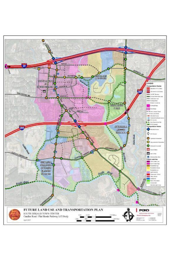 Candler Road Flat Shoals Parkway Livable Centers Initiative DeKalb County Georgia 1