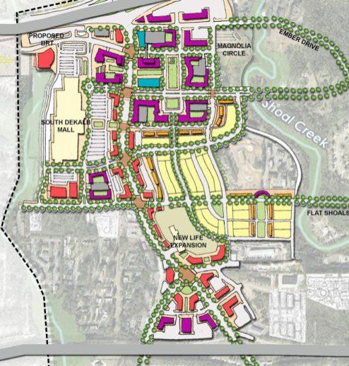 Candler Road Flat Shoals Parkway Livable Centers Initiative DeKalb County Georgia 2