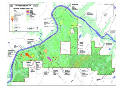 Chattahoochee Bend State Park General Development Plan - Coweta County, GA