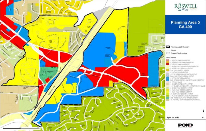 City of Roswell Comprehensive Plan Roswell Georgia 1