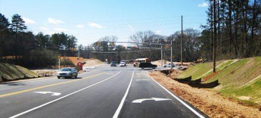 Due West Road Corridor Improvements Cobb County Georgia 2