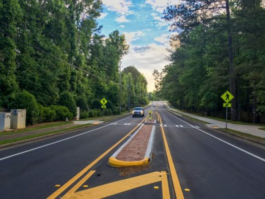 Eves Road Complete Street Roswell Georgia 2