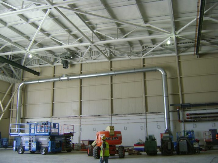 Greenside Type II Maintenance Hangar Marine Corps Base Quantico Virginia 1