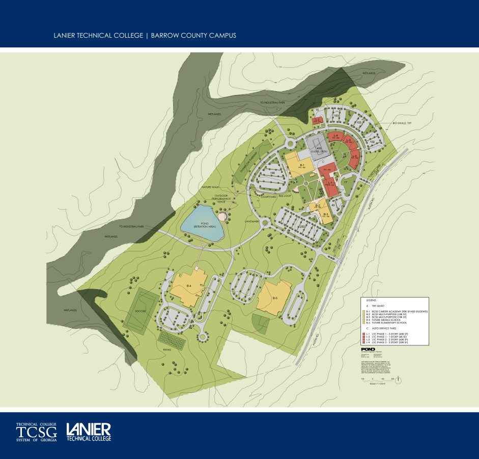 Lanier Technical College Campus Master Plan