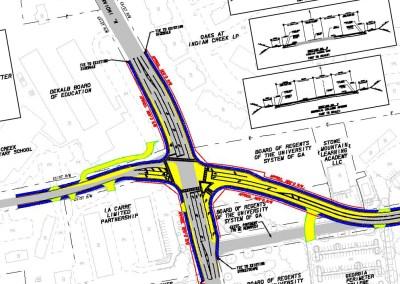 North Indian Creek-Memorial College Ave Intersection Improvements - Clarkston, GA