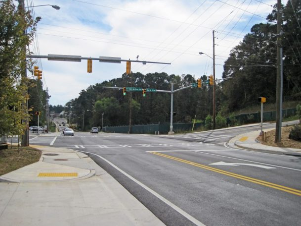 Pedestrian & Safety Improvements Old McEver Road Cobb County Georgia 2