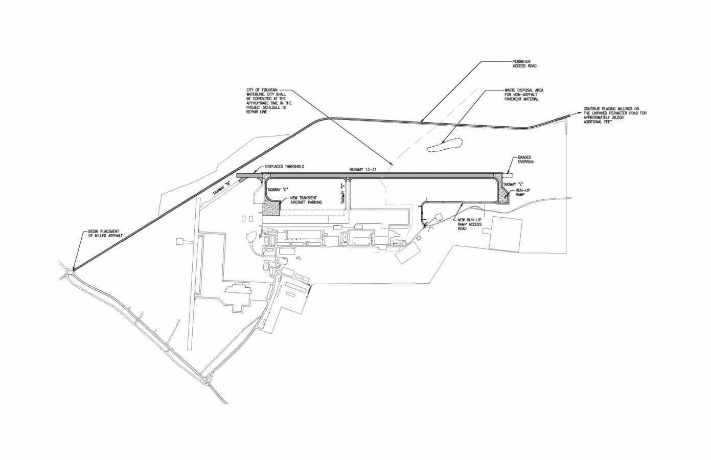Reconstruct Widen Runway 13 31
