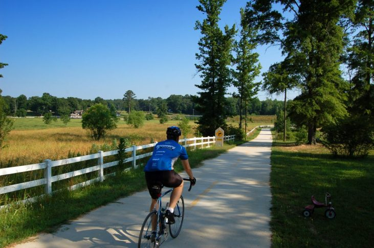 Silver Comet Trail Rockmart to Cedartown Polk County Georgia 2