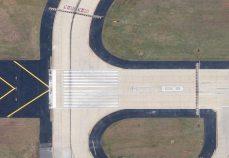 Taxiway Victor V 8R End Around Hartsfield-Jackson Atlanta International Airport Atlanta Georgia 3
