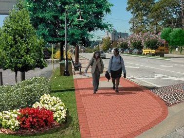 Virginia Avenue Pedestrian Improvement - Livable Centers Initiative (LCI) Morrow, GA