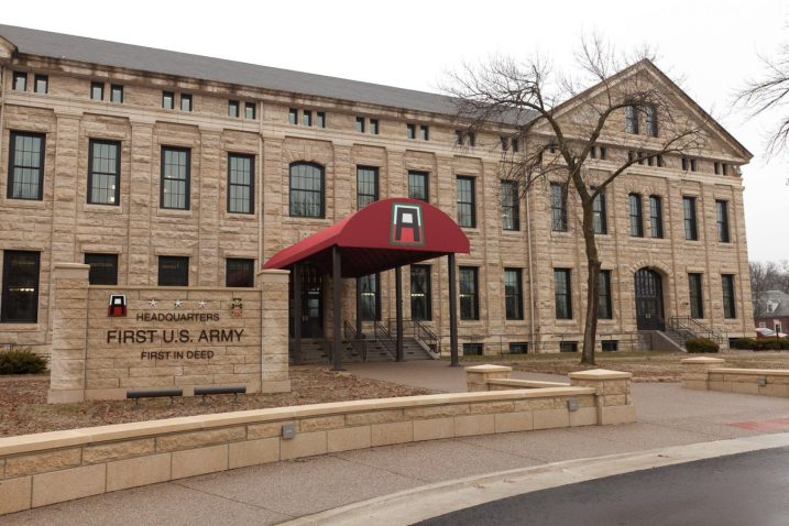 First Army Headquarters Renovation, Build-out of Building 68 Rock Island Arsenal Illinois 1