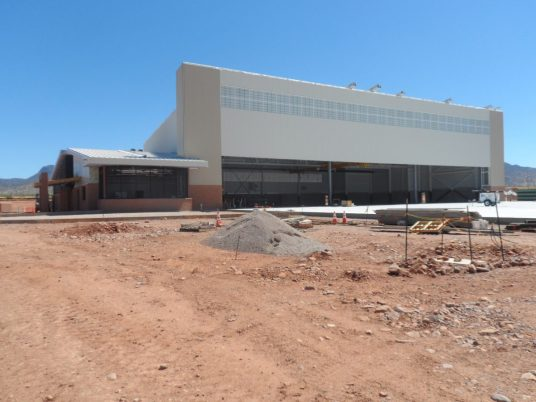 Predator LRE Aircraft Maintenance Hangar Fort Huachuca Arizona 7