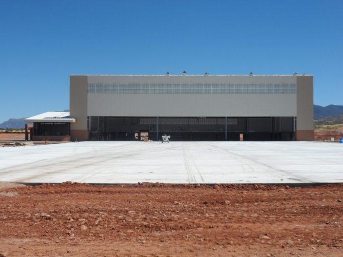 Predator LRE Aircraft Maintenance Hangar Fort Huachuca Arizona 8