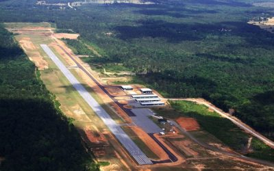 Harris County Airport taxiway project completed under budget