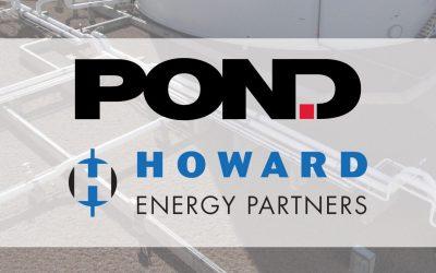 Pond awarded Howard Midstream Energy Partners LLC contract