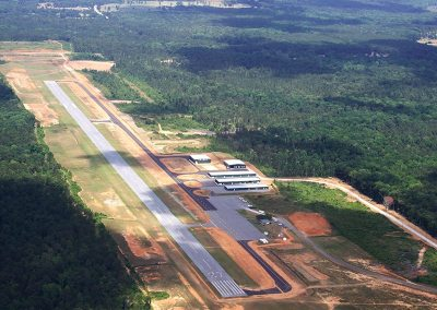Runway 09/27 Extension - Harris County Airport, GA