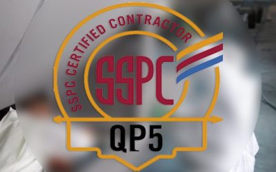 Pond receives Society for Protective Coatings QP5 Certification