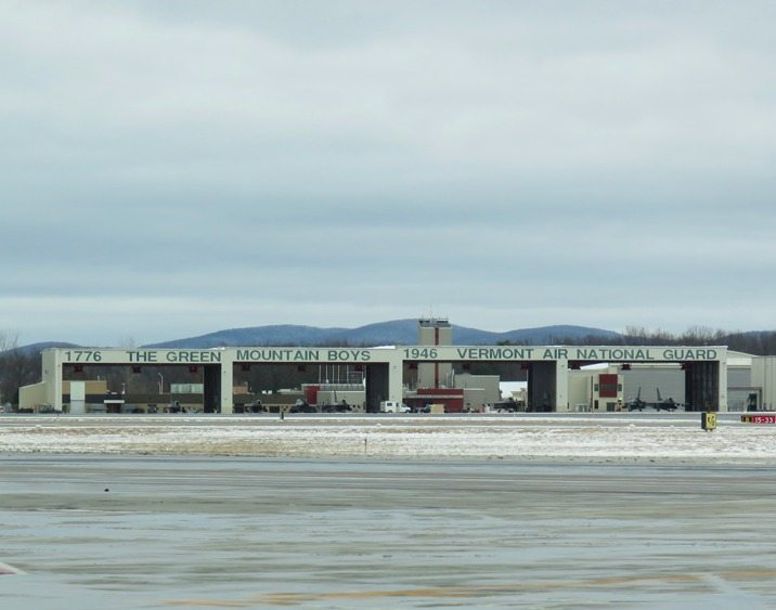 Airfield Reconstruction Projects - Vermont Air National Guard, Burlington, VT