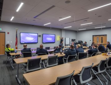Multi-purpose Training Area, Campus Safety Facility at Georgia Institute of Technology