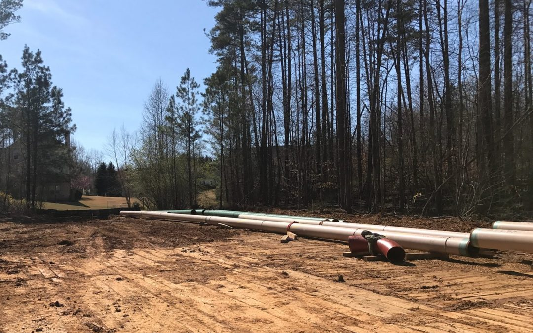 """16"""" Transmission Pipeline Lateral Pipeline - Forsyth County, GA"""