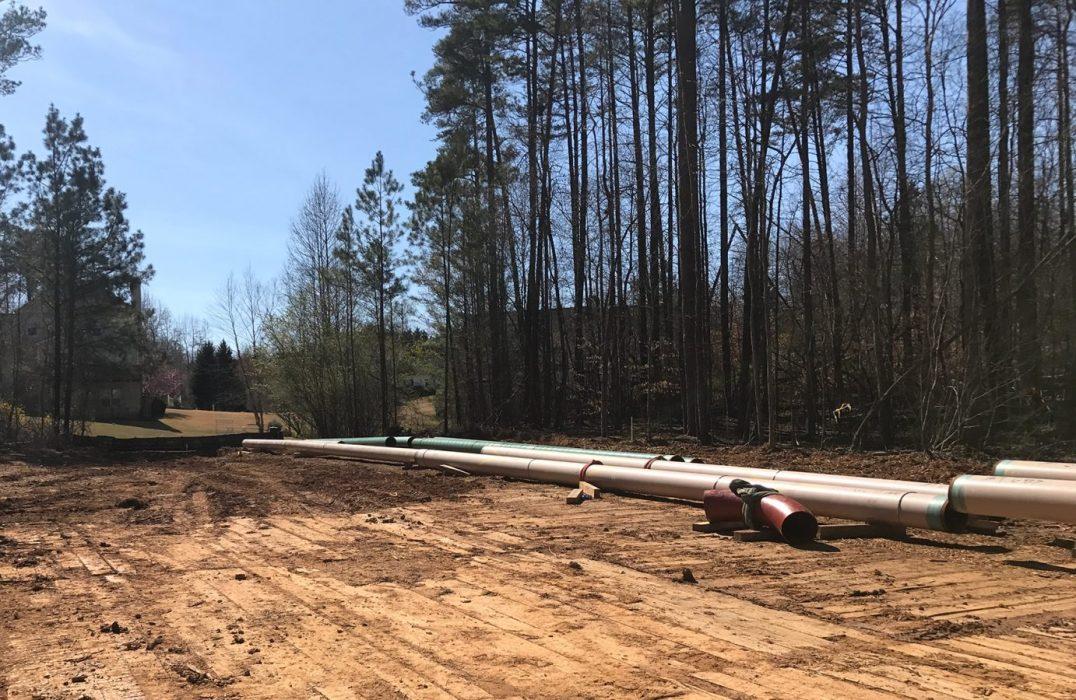 Atlanta Gas Light i-SRP Phase II Cumming Pipeline Cumming Georgia