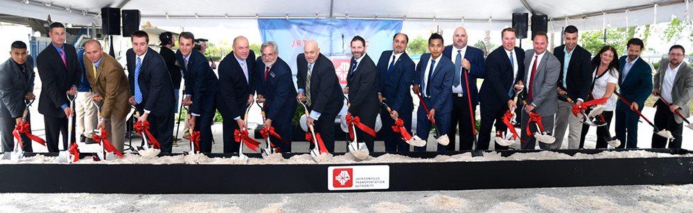 JTA breaks ground on $57 million transportation hub