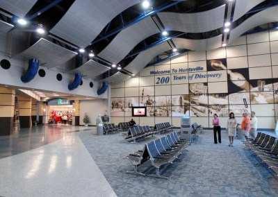 Security System Assessment and Replacement Design - Huntsville Int'l Airport, AL
