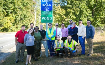 Pond's transportation department helps keep Gwinnett clean and beautiful