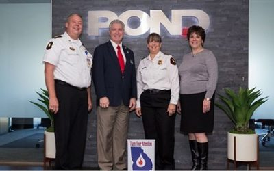 Pond hosts Georgia State Fire Marshal Dwayne Garriss