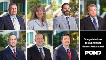 Pond announces new Senior Associates