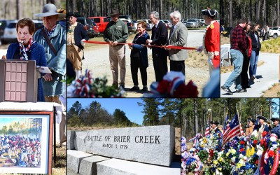 Pond celebrates the Battle of Brier Creek Commemoration and Memorial dedication