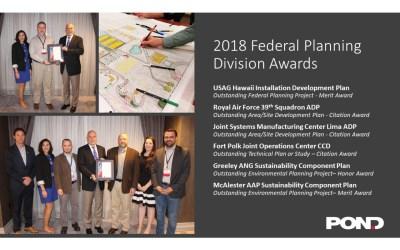 Pond wins big at the 2018 FPD Workshop