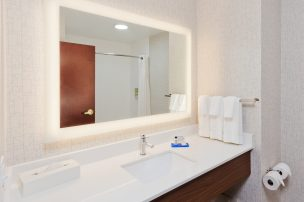 Standard Bathroom, Holiday Inn Express and Suites, Dothan, AL