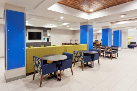 Breakfast Seating, Holiday Inn Express and Suites, Dothan, AL