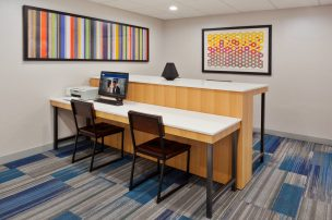 Business Center, Holiday Inn Express and Suites, Dothan, AL