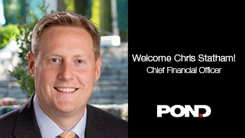 Pond Welcomes Chris Statham as Chief Financial Officer