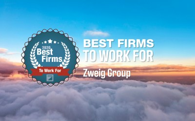 Pond Ranks Top 20 Best Firms to Work For by Zweig Group!