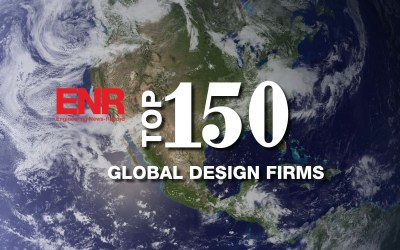 Pond Named A Global Leader in Design by ENR