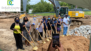 Pond Celebrates East Dekalb Community and Senior Center Groundbreaking