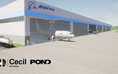 Pond Selected to Advance the Boeing Cecil Airport Facility
