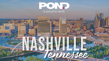 Pond Expands Presence in Nashville, Tennessee and the Southeast