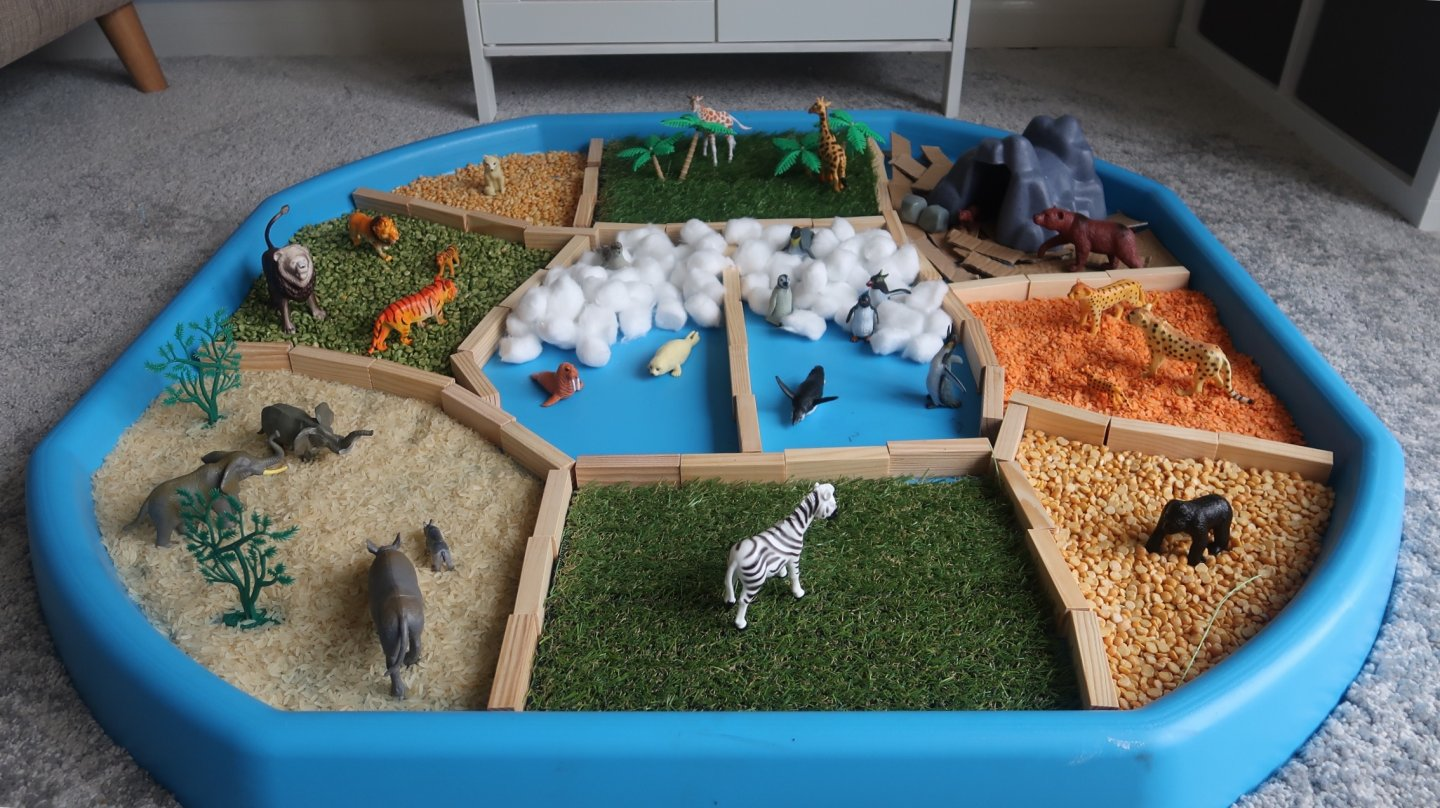 Pondering Playtime Dear Zoo And Zoo Themed Sensory Tuff
