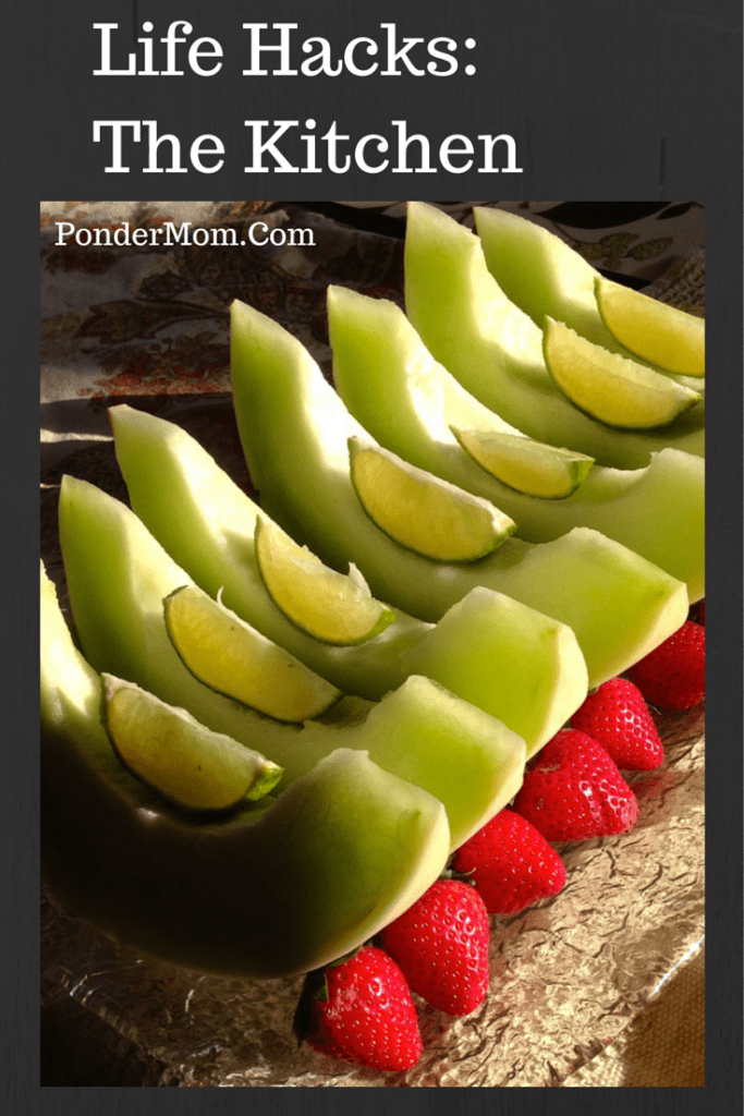 Life Hacks_ The Kitchen: squeeze lime on honeydew to make it taste sweeter and more flavorful